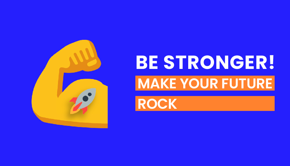 BE STRONGER - VISUAL DESIGN AND USER EXPERIENCE MASTER CONTAMINACTION UNIVERSITY